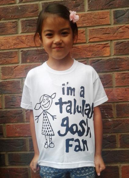 Talulah Gosh - I'm A Talulah Gosh Fan T-shirt (CHILDS WHITE)