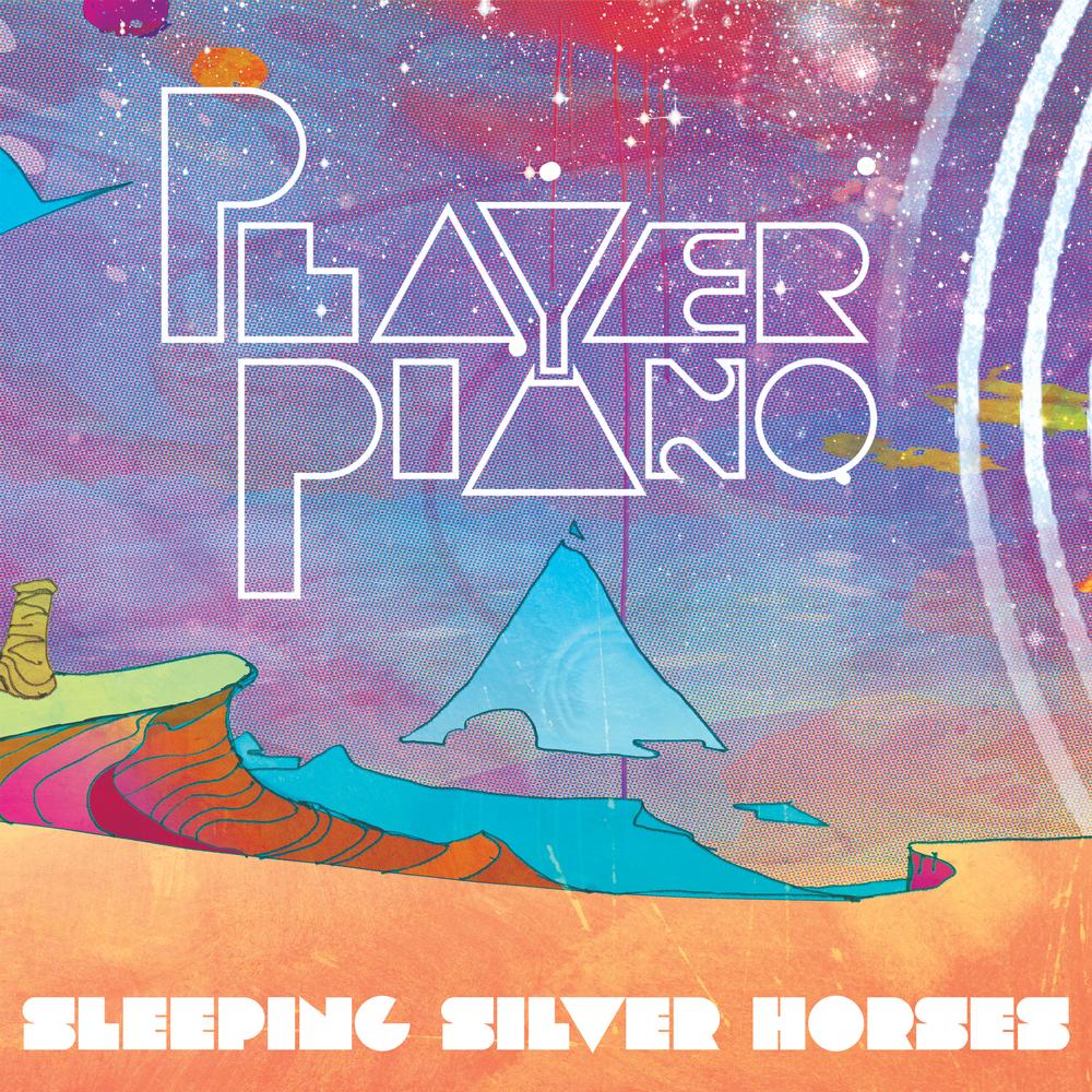 Sleeping Silver Horses