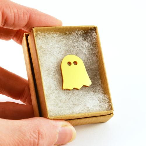 Piney Gir - Bling Ghost Badge