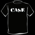 CASE - Logo T-Shirt (White on Black)