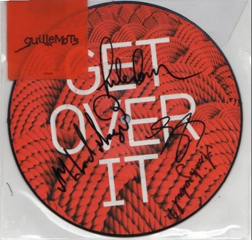 "Get Over It - Signed 7"" Picture Disc"