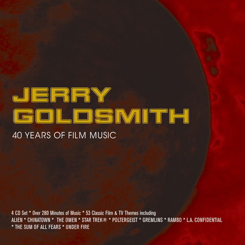 Various Artists - JERRY GOLDSMITH: 40 YEARS OF FILM MUSIC