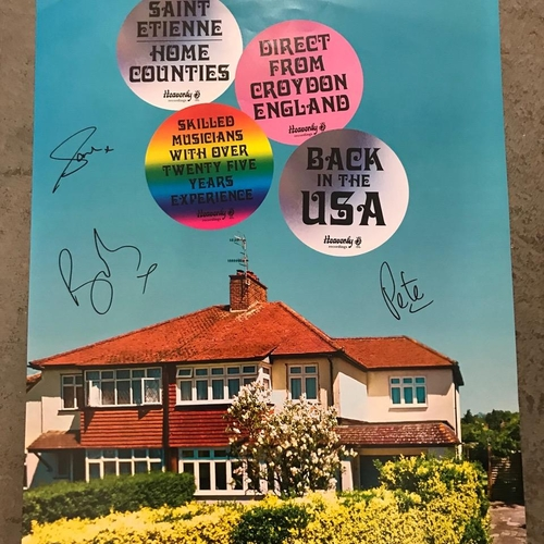 US Tour Poster - signed