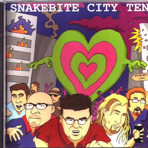 Various Artists - Various - Snakebite City 10 CD