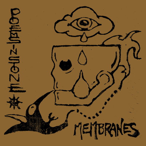 "POEMS IN STONE - Membranes 12"" LP"