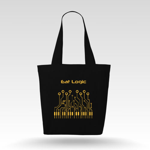 Eat Logic shopping bag