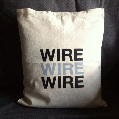 Wire - Wire - natural white cushion