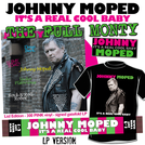 "It's a Real Cool Baby - THE FULL MONTY - SIGNED PINK 12"" VINYL + EXCLUSIVE Johnny Moped SCARF + EXCLUSIVE T-SHIRT + ENAMEL BADGE"