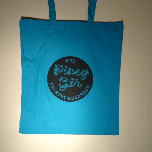 Piney Gir - Country Roadshow blue tote bag