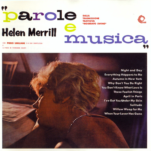 Helen Merrill and the Piero Umiliani Orchestra - Parole e Musica