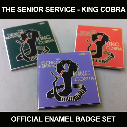 The Senior Service - The Senior Service - King Cobra (THREE BADGE BUNDLE)