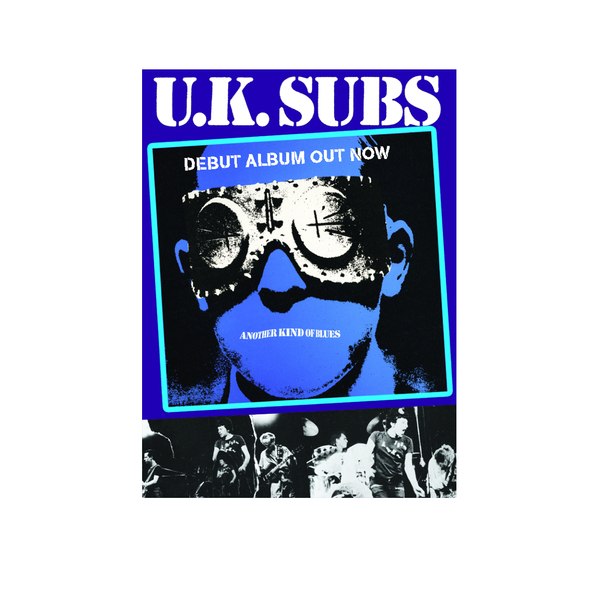 Uk Subs Uk Subs Another Kind Of Blues Poster