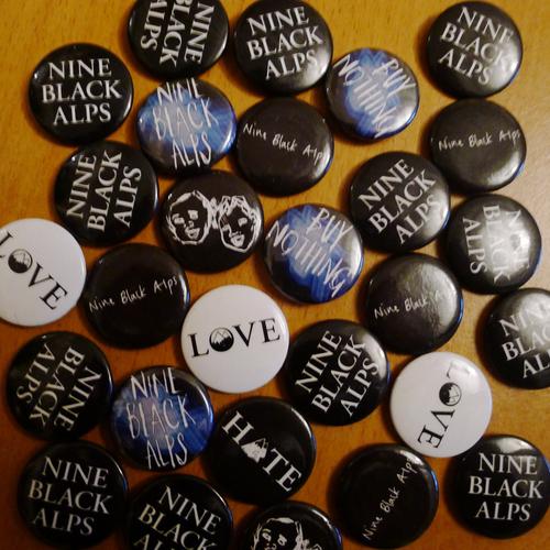 Nine Black Alps - Nine Black Alps Badges