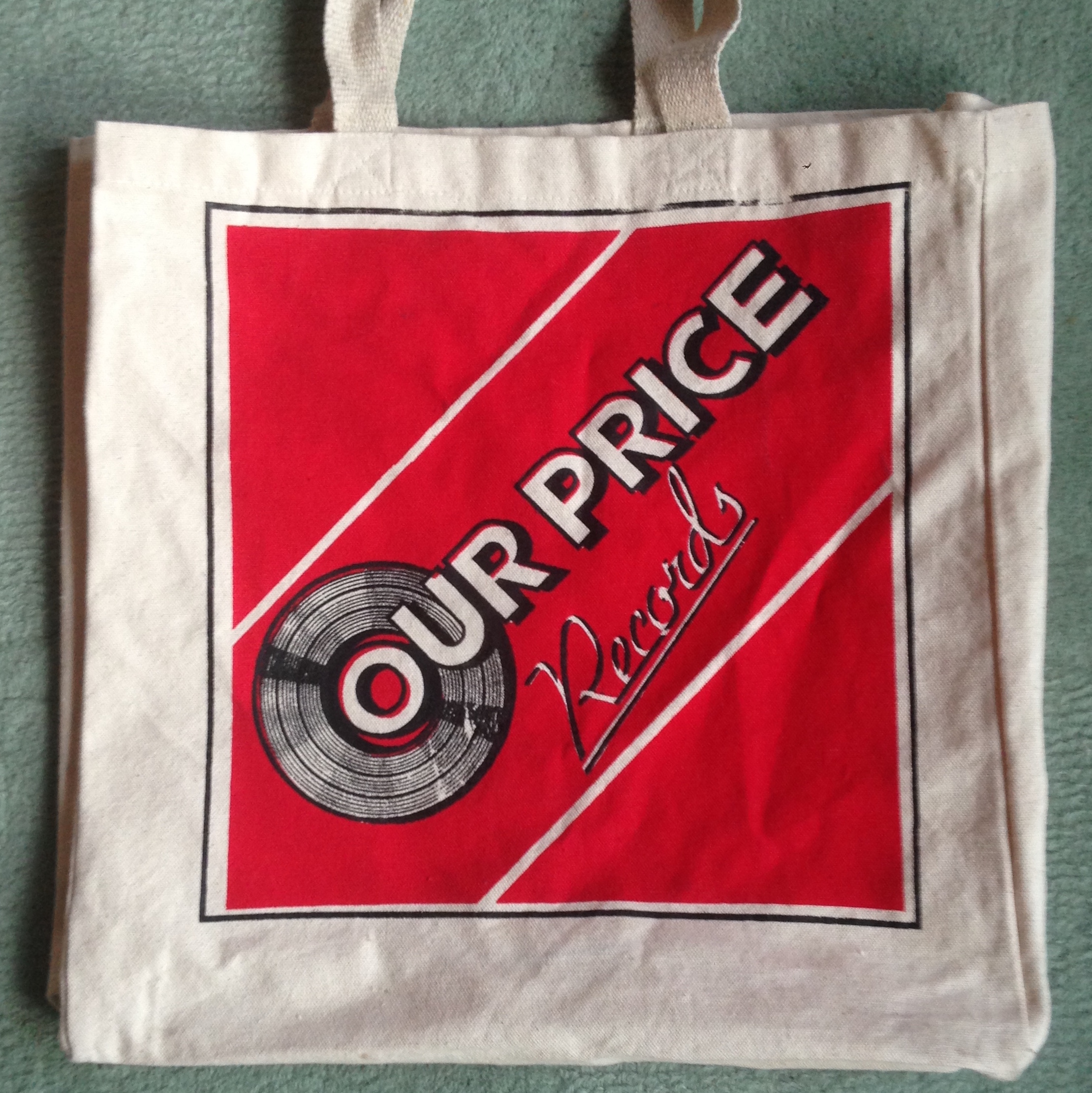 2011981532 Our Price Records Tote Bag    Trunk Records