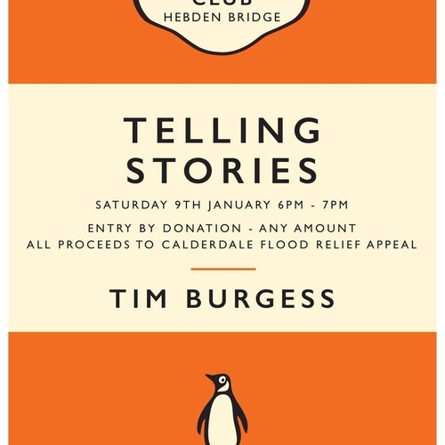 Tim Burgess Book/Poster Flood Fundraisers