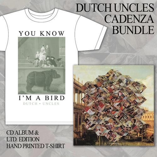 Dutch Uncles - Dutch Uncles CD and T-Shirt Bundle