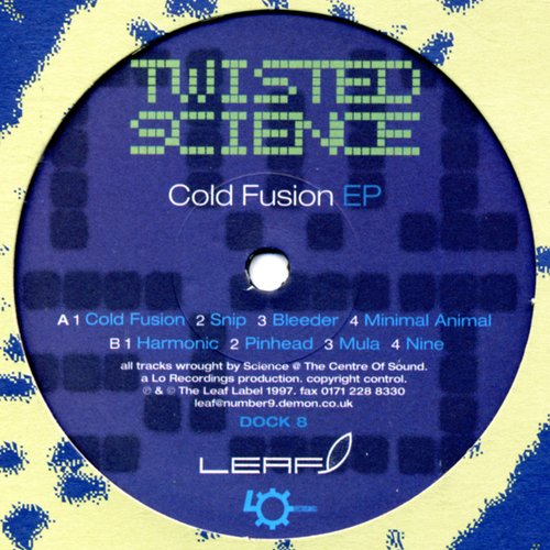 Twisted Science - Cold Fusion