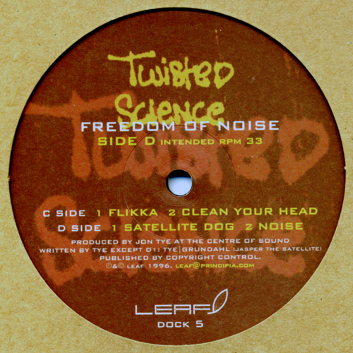 Twisted Science - Freedom Of Noise