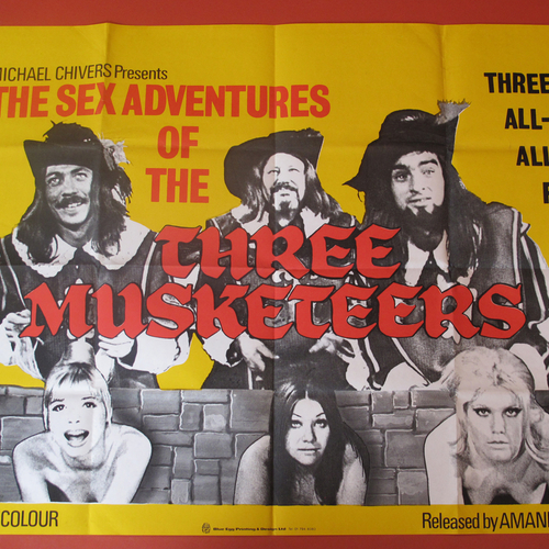 Sex Adventures Of The Three Musketeers