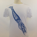 20,000 Leagues White Squiddy Tattoo Tee