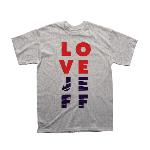 Postcards from Jeff - 'Love Jeff' T-Shirt