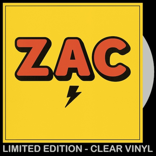 ZAC - ZAC (CLEAR VINYL LP)