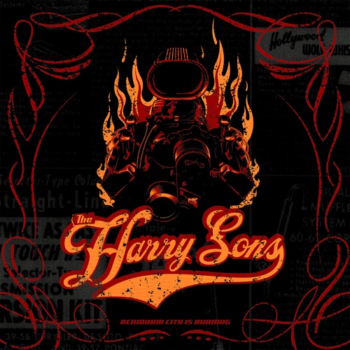 Harry Sons - HARRY SONS - Benidorm City is Burning