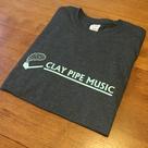 Clay Pipe T-Shirt - dark grey.