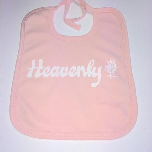 Heavenly Baby Pink Bib