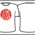 Men's White Go! Team Logo T-shirt