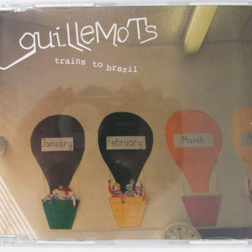 Guillemots - Trains To Brazil - Single CD (promo)