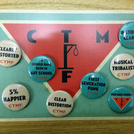 CTMF - Badge set