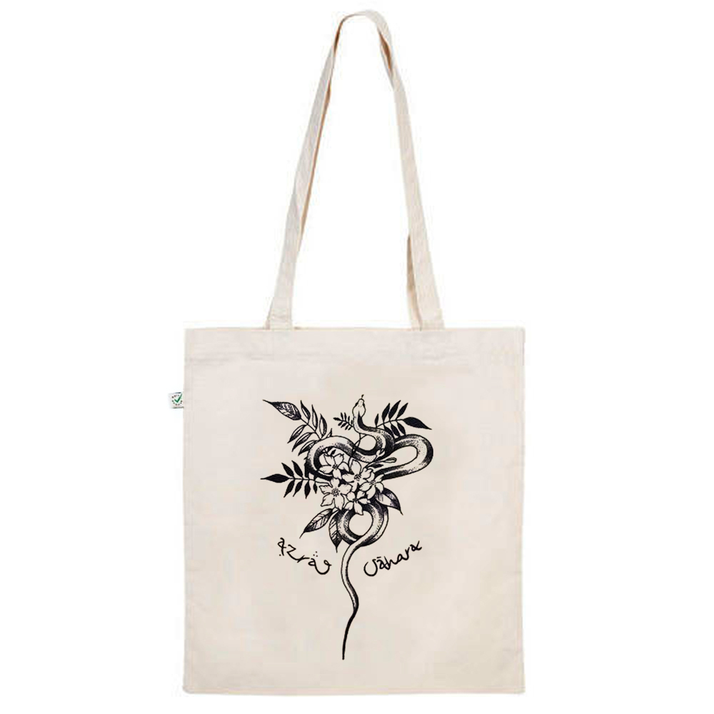 AZRAQ SÀHARA - Limited Snake Tote Bag