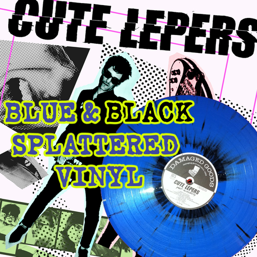 The Cute Lepers - The Cute Lepers - Smart Accessories LP - Blue/black splatter  Vinyl