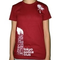 Red Tokyo Police Club 'Artwork' T-shirt