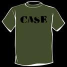 CASE - Logo T-Shirt (Black on Green)