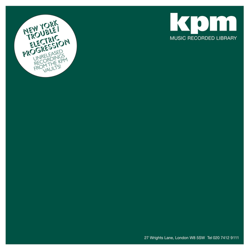 KPM - New York Trouble / Electric Progression