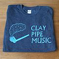 Clay Pipe T-Shirt in Dark Grey