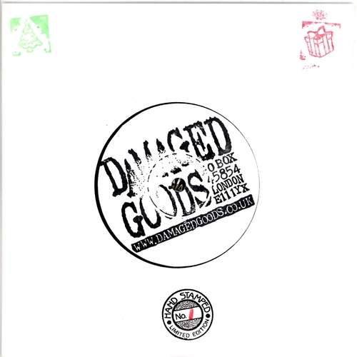 Various Artists - Damaged Goods 100 Club Christmas EP