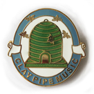 Clay Pipe badge No1
