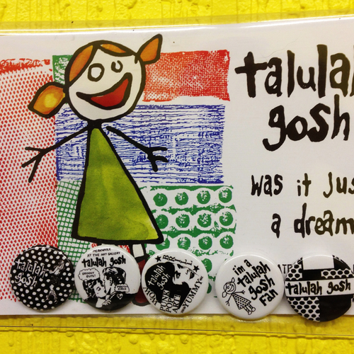 Talulah Gosh - Talulah Gosh Badge Set (5 badges + Postcard)