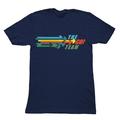 The Go! Team - Arrow Logo T shirt - Mens Navy