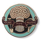 Clay Pipe Badge No7