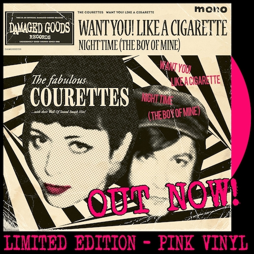 The Courettes - Want You! Like a Cigarette