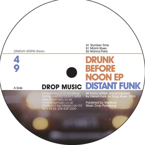 Distant Funk - Drunk Before Noon EP