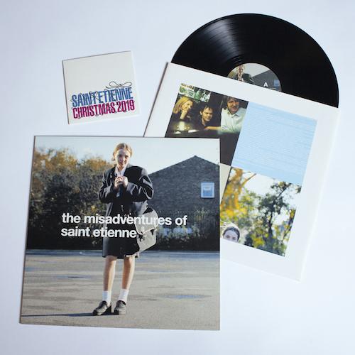 'The Misadventures Of Saint Etienne' Black Vinyl with signed card/CD
