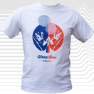 Ghost Box Two Colour T-Shirt, White