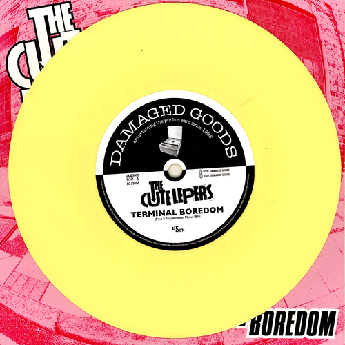 The Cute Lepers - Terminal Boredom (Yellow Vinyl)