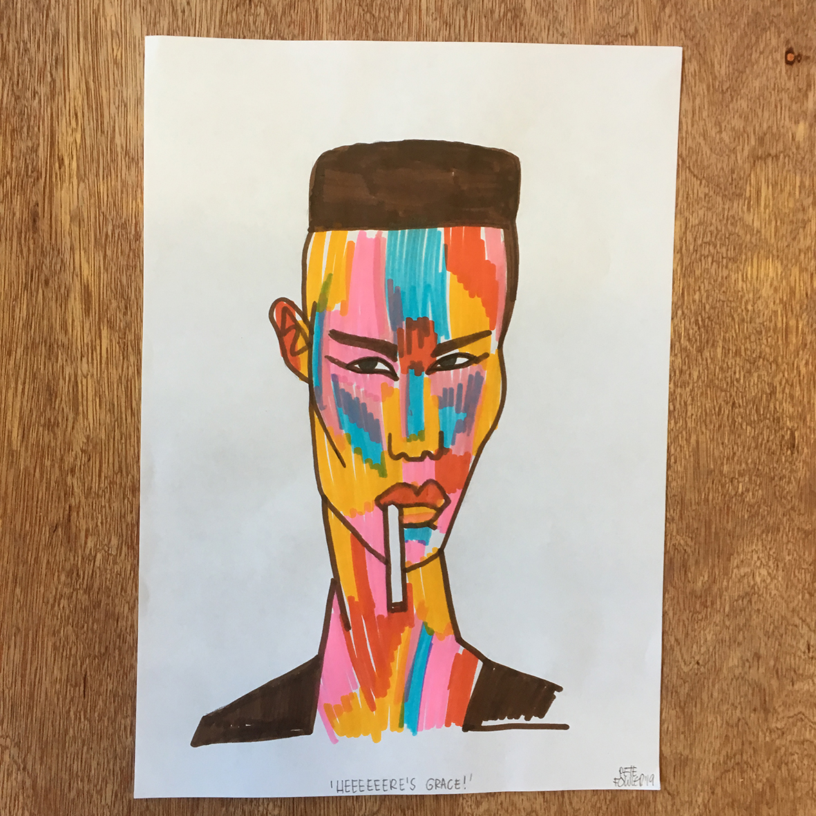 Grace Jones maxxi