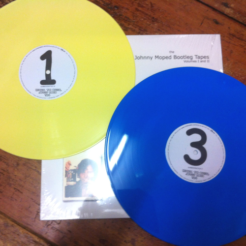 Johnny Moped - Johnny Moped - The Complete Bootlegs I & II (BLUE / YELLOW VINYL LPs)